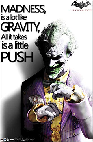 Hungover Wall Art Batman Arkham City Joker Quotes Fine Quality