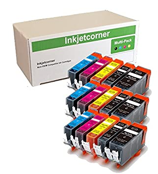 Amazon.com: inkjetcorner (15 unidades, compatible Cartuchos ...