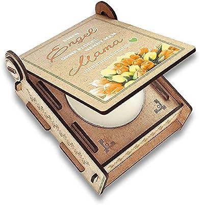 CANDLE in the BOX Caja de Regalo con Mensaje & Vela   Regalo ...