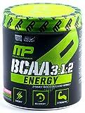 MusclePharm BCAA 3:1:2 Energy Sport Supplement, Watermelon, 30 Servings