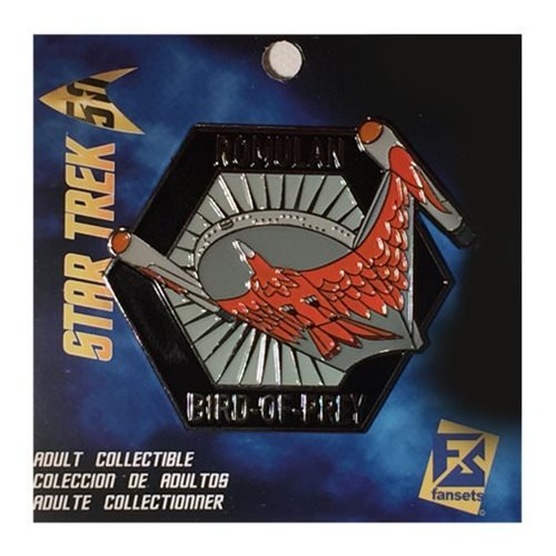 - Fansets Star Trek Romulan Bird of Prey Pin