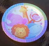 NOAH'S ARK ANIMALS BIRTHDAY PARTY PLATE 9 IN. (16 COUNT)