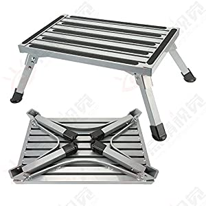 Caravan Step Folding Ladder Aluminum Stool Domestic Stool Footstool Step Caravan Steps Non-slip Multi Purpose Car Pedal  sc 1 st  Amazon UK & Caravan Step Folding Ladder Aluminum Stool Domestic Stool ... islam-shia.org