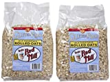 Bob's Red Mill Gluten Free Whole Grain Rolled Oats, 32 oz, 2 pk by Bob's Red Mill