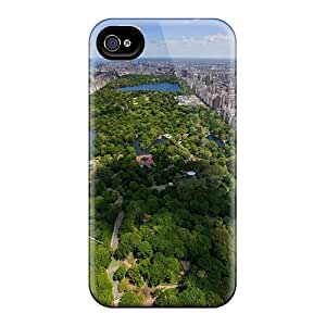 For Iphone 4/4s Premium Tpu Case Cover Wonderful View Of Central Park Nyc Protective Case