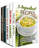 Budget-Friendly Box Set (5 in 1) Learn How to Make Pies, Dips, Soups, Slow Cooker Desserts and 5-Ingredient Recipes on a Low Budget Get FIVE books for up to 60% off the price! With this bundle, you'll receive: 5-Ingredient Recipes Perfect Cak...