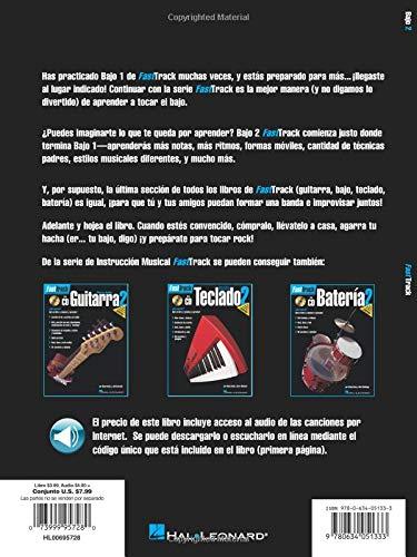 Amazon.com: FastTrack Bass Method 2 - Spanish Edition (Fast Track (Hal Leonard)) (0073999957280): Jeff Schroedl, Blake Neely: Books