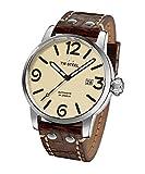 TW Steel Men's MS26 TW Steel Maverick Analog Display Quartz Brown Watch