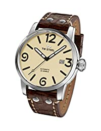 TW Steel Men's MS26 TW Steel Maverick Analog Display Quartz Brown Watch