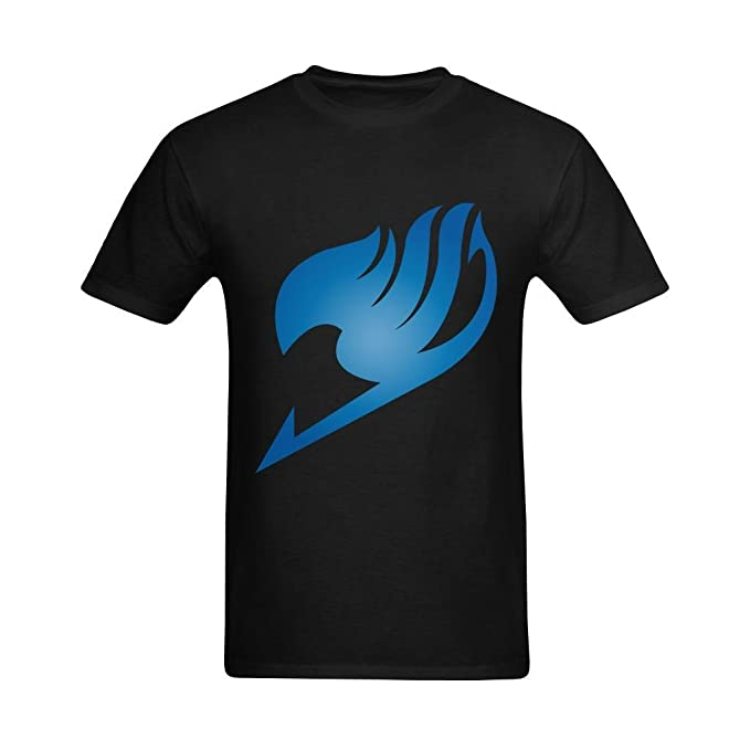 Youranli Hombres de Fairy Tail Logo Cool Diseño Flying Símbolo Icono Teeshirts - Blanco -: Amazon.es: Ropa y accesorios