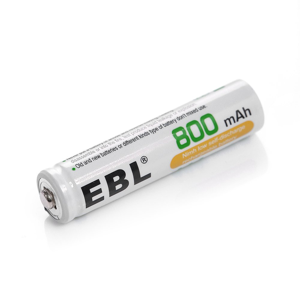 Ebl 800mah Nimh Aaa Rechargeable Batteries 20 Pack Bay 9 Volt Smart Battery Charger 8 X 300 Mah Accupower Home Audio Theater