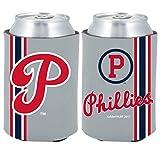 Philadelphia Phillies 2-PACK CAN Retro THROWBACK Koozie Neoprene Holder Cooler Coolie Baseball
