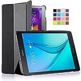Galaxy Tab A 8.0 Case, IVSO Samsung Galaxy Tab A 8.0 Case - Ultra Lightweight Slim Smart Cover Case-(Lifetime warranty)-Will only fit Samsung Galaxy Tab A 8.0 Tablet (Black)