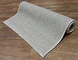 Handwoven wool rug, Jute rug, Bedside wool rug, Wool rug beige, Small wool rug, Ecru wool mat, Runner rug, Area rug, Modern wool carpet, Jute mat, 27 1/2'' x 64''