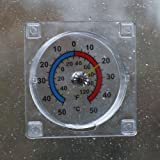 Window dial thermomet