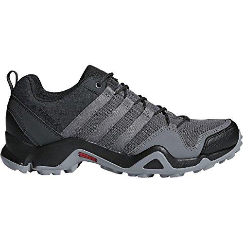 adidas outdoor Mens Terrex AX2R Shoe (8 - Carbon/Grey Four/Solar Slime)