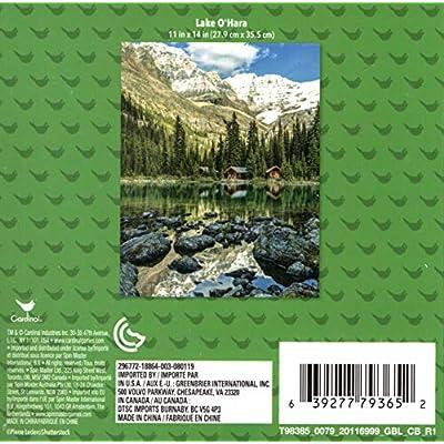 Lake O'Hara - 500 Piece Jigsaw Puzzle: Toys & Games