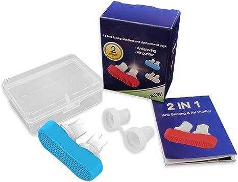 HZYWL Dispositivo Anti ronquido, Ayuda para Dormir y Respirar, una ...