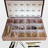 Kwikset Rekey Pins Key Kit Locksmith Rekeying Set Tool Box 6 Tools & 200 Pins