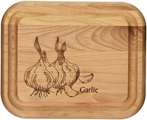 Catskill Craftsmen 7-Inch Bar Board with Garlic Brand
