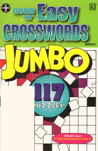 Good N Easy Crosswords Jumbo