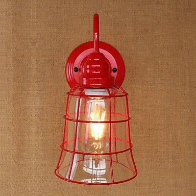RY Estados Unidos país hierro retro pared lámpara roja ...
