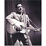 johnny cash guitar pic - Johnny Cash 8 inch by 10 inch PHOTOGRAPH Singer/Performer/Writer Django Unchained Walk the Line Logan B&W Pic from Thighs Up Singing/Playing Guitar kn