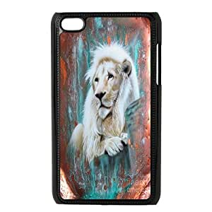 Powerful Lion Hard Plastic Back Case Cover for Ipod Touch Case 4 HSL419560