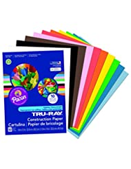 Pacon Tru-Ray Construction Paper, 9-Inches by 12-Inches, 50-C...