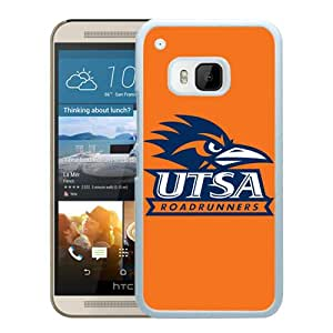 NCAA TexasSan Antonio Roadrunners 4 White Hard Shell Phone Case For HTC ONE M9