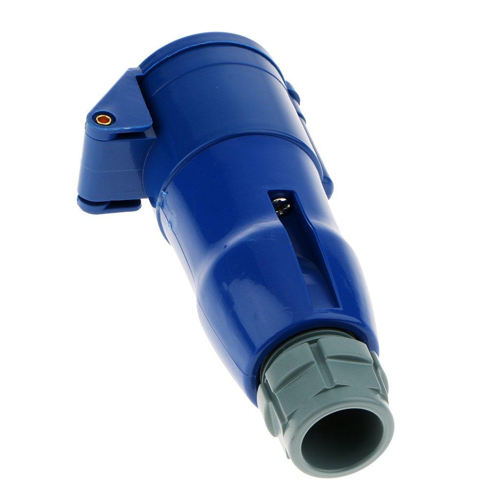 Noir et Bleu Sharplace RV Camper 220v-240v 16a Externe Rincer vers Le Haut De Prise De Courant /étanche