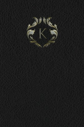 """Monogram """"K"""" Meeting Notebook (Monogram Black 150 Meeting) (Volume 11) PDF"""