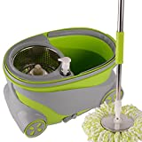 Chinashow Easy Wring Spin Mop and Bucket System, Luxury Sports...