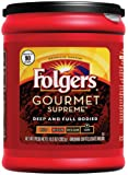 Folgers Gourmet Supreme Ground Coffee, 10.3-Ounce Packages (Pack of 6)