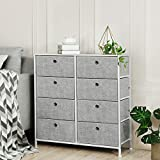 SONGMICS 4-Tier, Storage Dresser with 8 Easy Pull