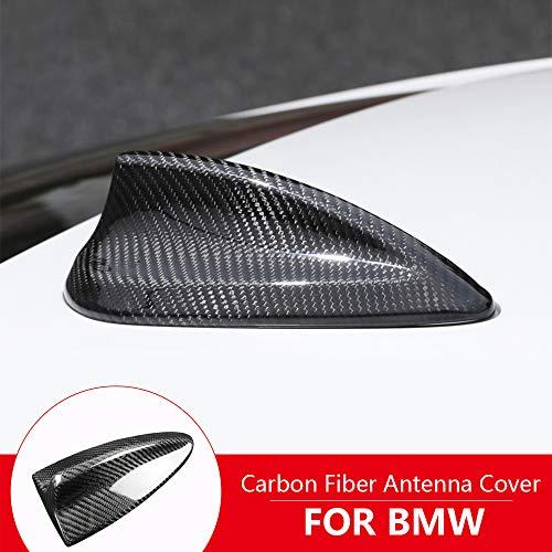 AIRSPEED Carbon Fiber Car Shark Fin Antenna Cover for BMW E90 E92 E90 M3 E9X M3 Accessories (Best Looking Bmw M3)