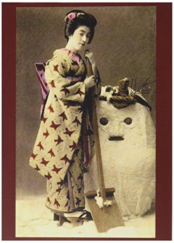 Nouvelles Images Holiday Boxed Note Card Set, Geisha and Sno
