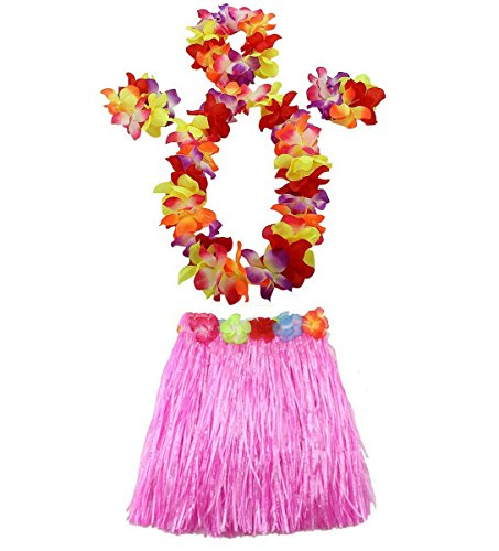 1 Set 40cm kids Party Hawaii Dress Hula