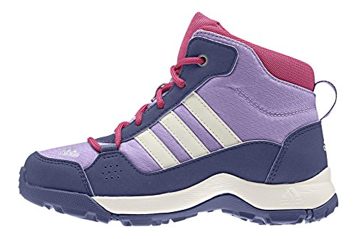 adidas Unisex-Kinder Hyperhiker Trekking-& Wanderstiefel, Violett (Super Purple S16/Chalk White/Raw Purple S16), 29 EU