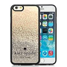 Genuine Kate Iphone 6 Case,Kate Spade 85 Black Iphone 6 4.7 Inches Screen TPU Phone Case Fashion and Unique Design