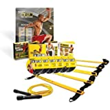 Beachbody Insanity The Asylum 30 Day Sports Training DVD Programme (with Agility Ladder and Speed Rope) - Multicoloured