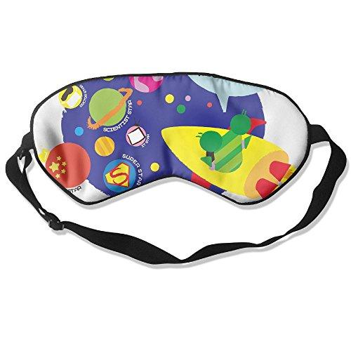 WUGOU Sleep Eye Mask I Am Coming Lightweight Soft Blindfold Adjustable Head Strap Eyeshade Travel Eyepatch