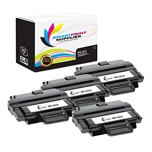 - Smart Print Supplies Compatible 106R01486 Black High Yield Toner Cartridge Replacement for Xerox WorkCentre 3210 3220 Printers (4,100 Pages) - 4 Pack