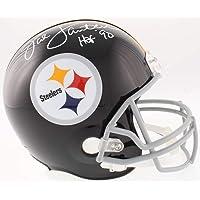 $209 » Jack Lambert Signed Autograph Throwback Full Size Helmet HOF Inscribed JSA Witnessed Certified