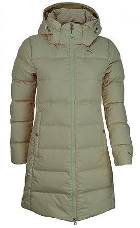 378ecfa09241 Amazon.com  Puma FD Cat Down Jacket Womens Slim Fit Down Coat Hooded ...
