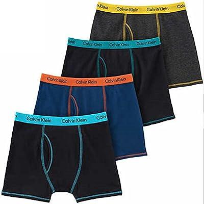 Calvin Klein Boys 4PK Boxer Briefs