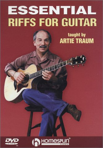 Essential Acoustic Guitar Lessons - DVD-Essential Riffs For Guitar
