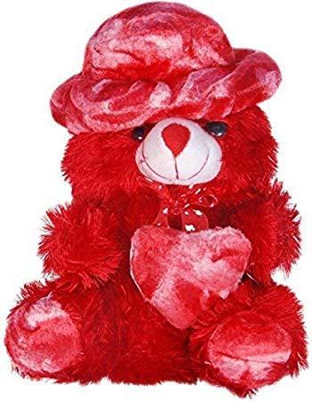 kashish gift gallery Teddy Bear Soft Toy  30 Cm, Red