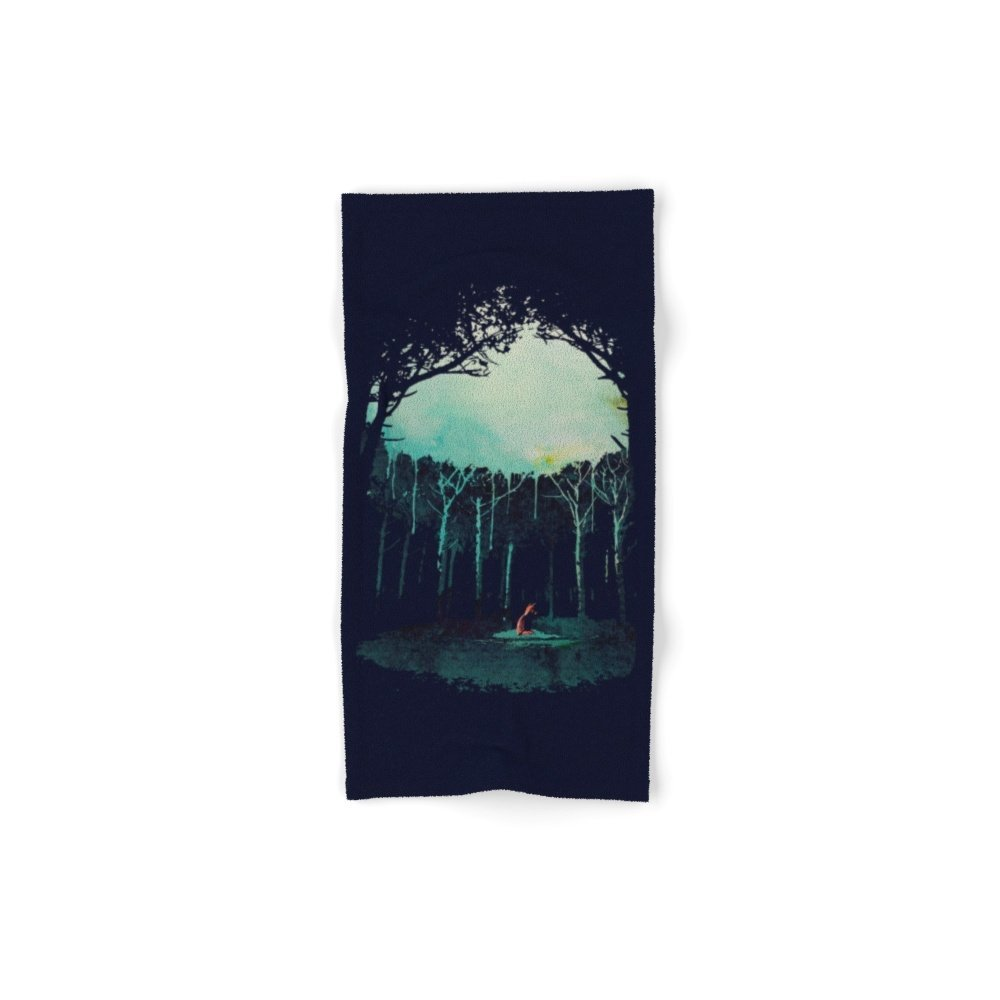 Society6 Deep In The Forest Hand Towel 30''x15'' by Society6 (Image #1)