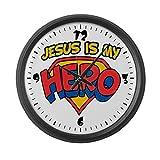 Large Wall Clock Jesus Is My Hero